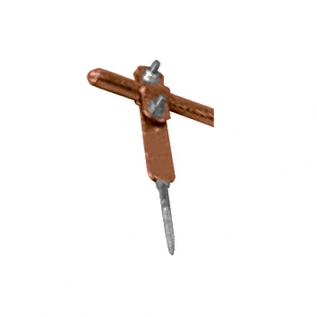 Držiak zachytávacej tyče na upevnenie do muriva