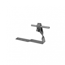 Conductor support for asphalt (composition) shingles and tile roofs