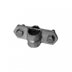Earthing rod clamp