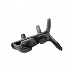 Universal pipe clamp without strip