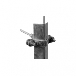 Protective angle holder universal with screw into wood